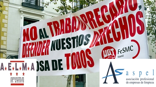 El sindicato de Limpieza de FeSMC UGT-Madrid convoca huelga indefinida el 27N en defensa de su convenio