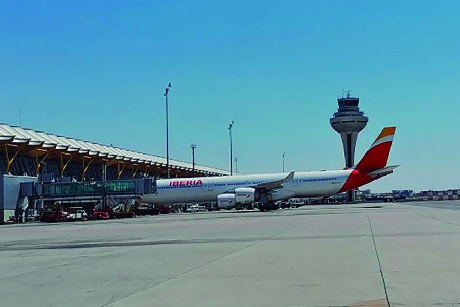 UGT convoca huelga en Iberia en el aeropuerto de Adolfo Suárez Madrid Barajas
