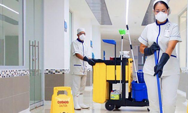 UGT exige que se amplíen plantillas de limpieza en hospitales y centros de salud y se les doten de los equipos de protección imprescindibles